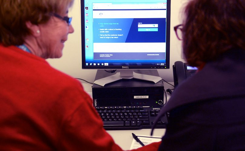 Camcare assist with e-Tax Return