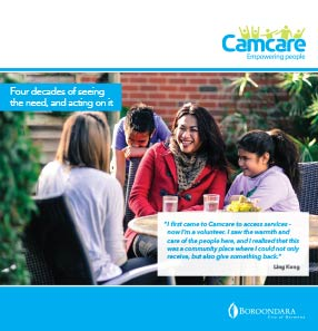 Camcare Marketing Brochure