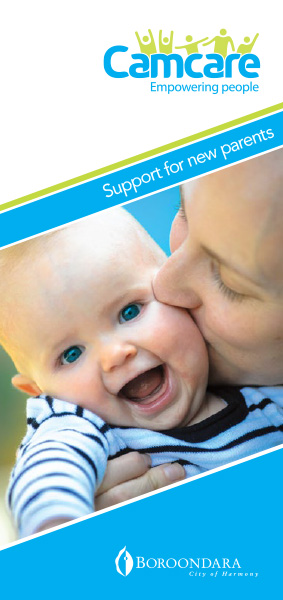 Camcare - Support For New Parents Brochure