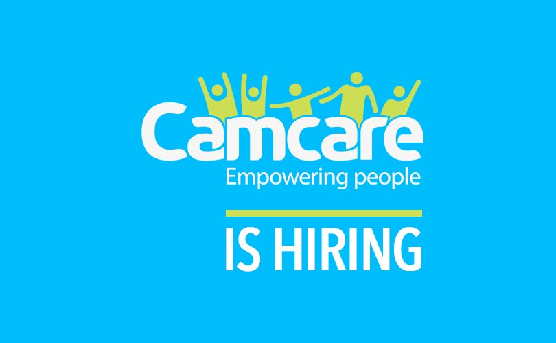 Camcare is hiring