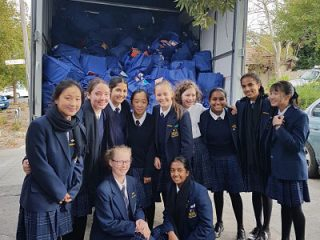 Hope food drive PLC students with delivery_opt